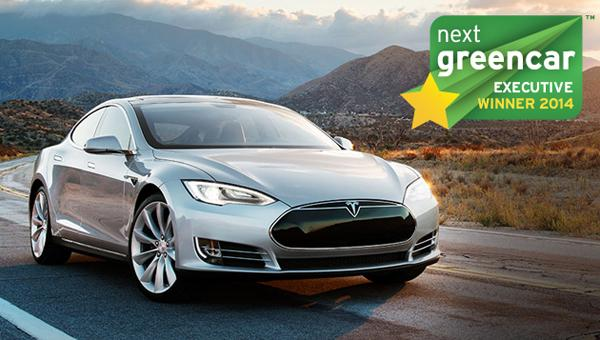 best electric cars - tesla model s
