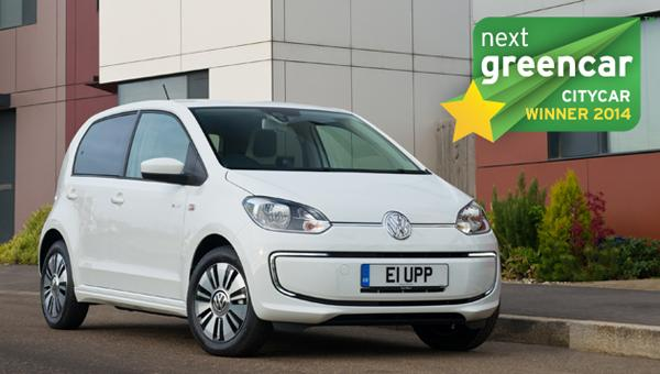 top 10 electric cars - vw e-up!