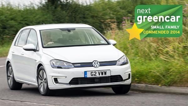 top 10 electric vehicles - vw e-golf