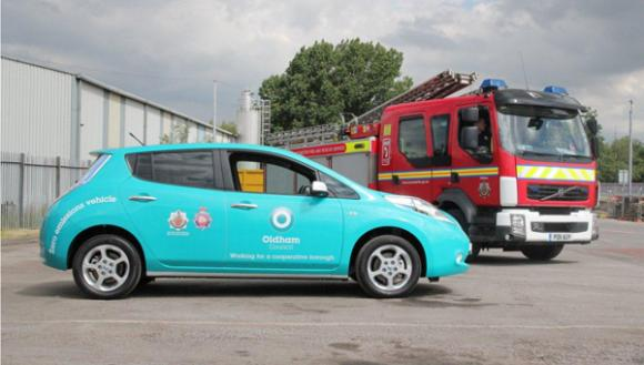 Oldham Council Is Taking Delivery Of Seven Nissan Leafs Zap Map