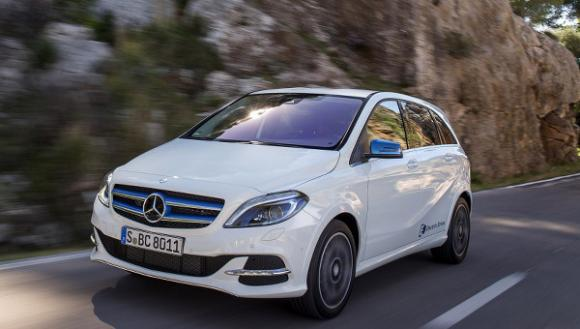 Mercedes B Class Electric >> Mercedes Benz B Class Electric Drive Now Available To Order