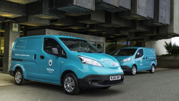 Oldham Council Expands Ev Fleet With Two Nissan E Nv200