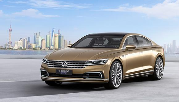 Volkswagen Reveals C Coupé Gte Plug In Hybrid Concept Car