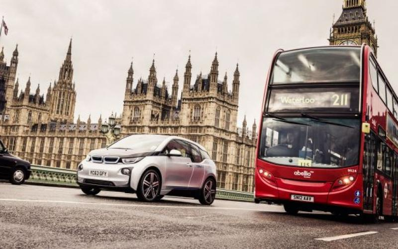 drivenow launches london' largest shared fleet electric cars