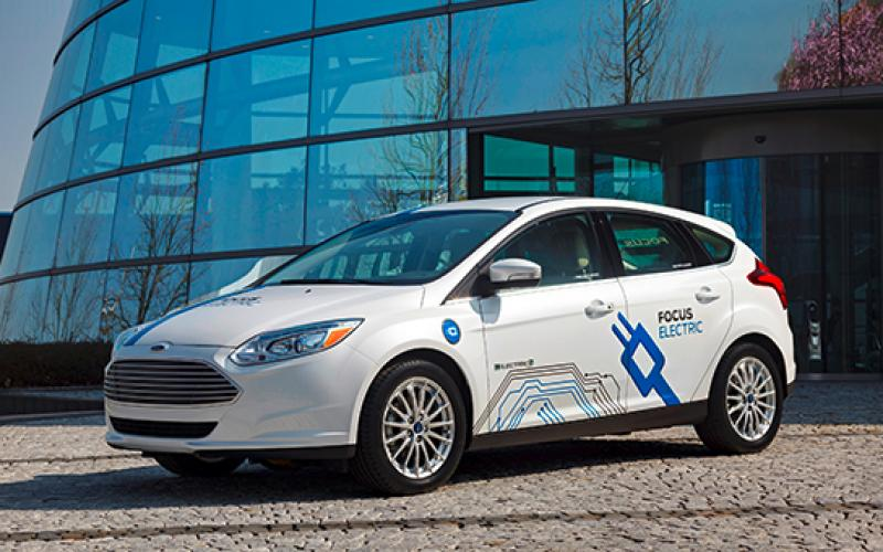 ford electric vehicle patents competitors