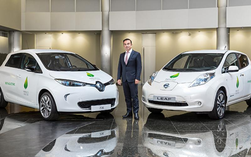 renault-nissan alliance provide 200 evs 2015 paris climate conference