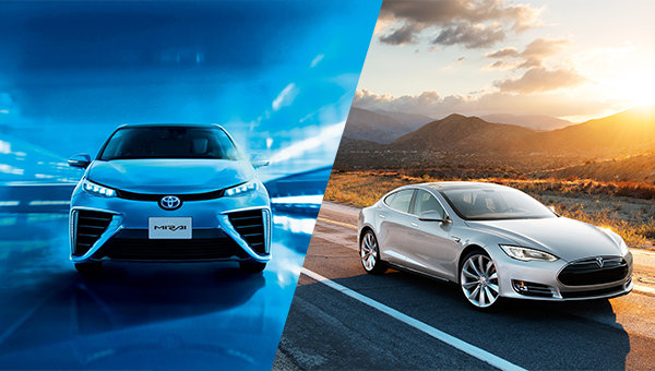 Battery Electric Versus Hydrogen Fuel Cell Vehicles Which