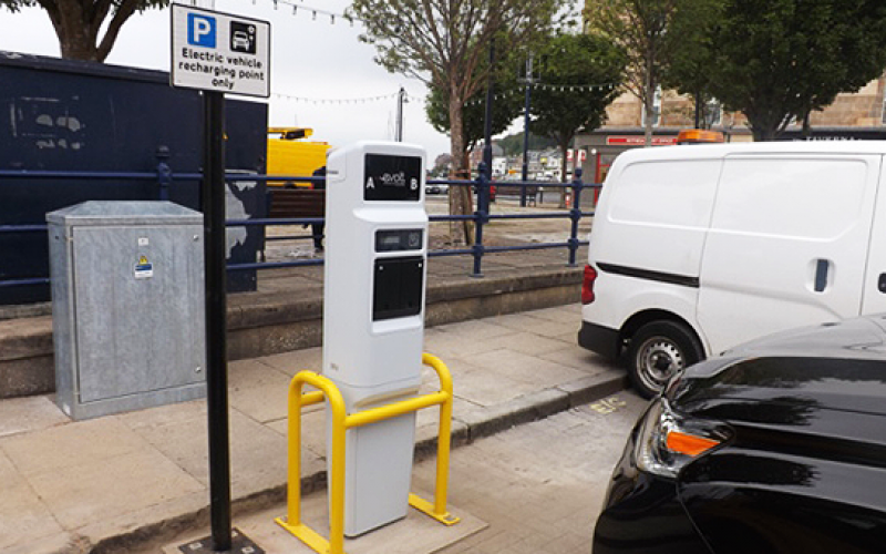 bute electric vehicle charging point