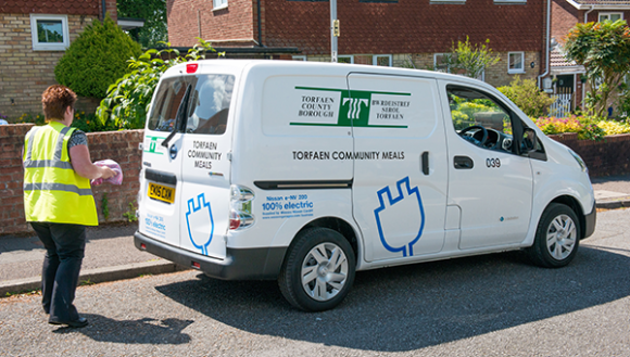 Tor Council Employs Services Of Nissan E Nv200 Electric Van