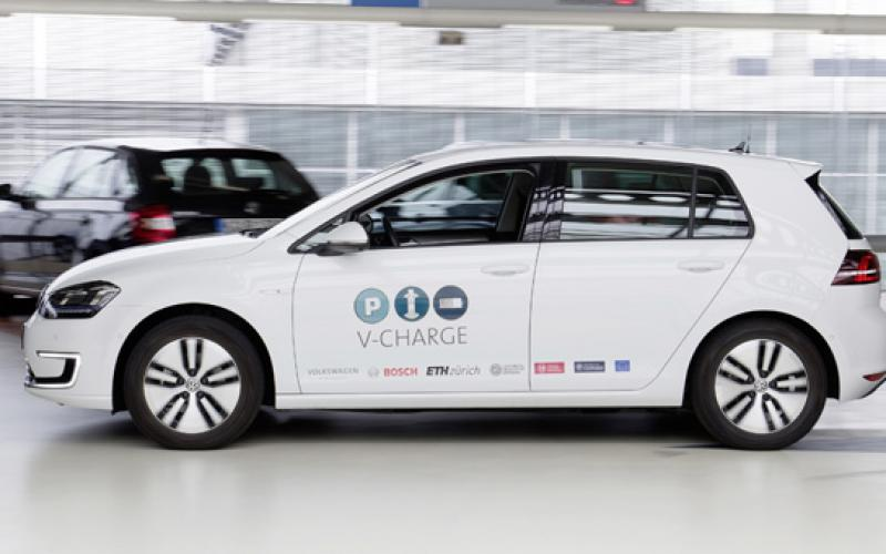 volkswagen explores futures automated ev charging