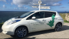 ev enthusiasts travel john ogroats lands nissan leaf ev