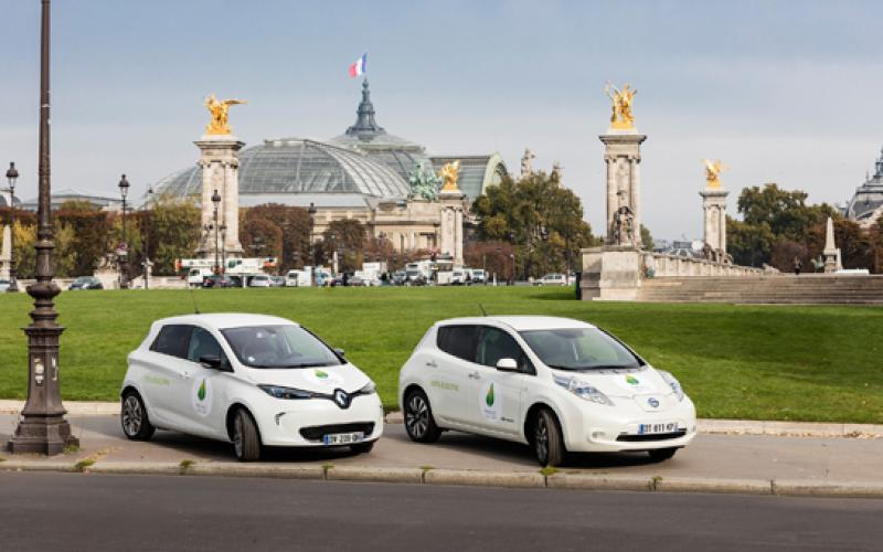 renault nissan boost charging points climate talks