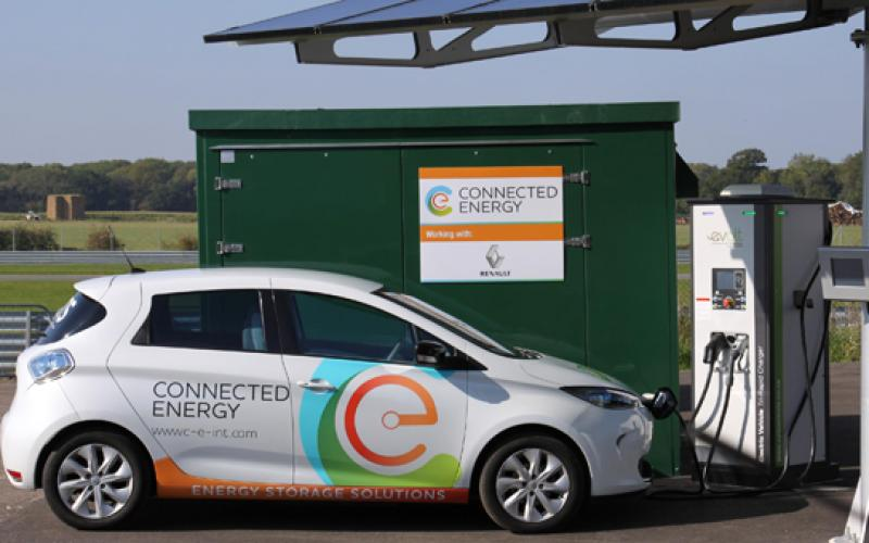 renault recycle ev batteries energy storage firm