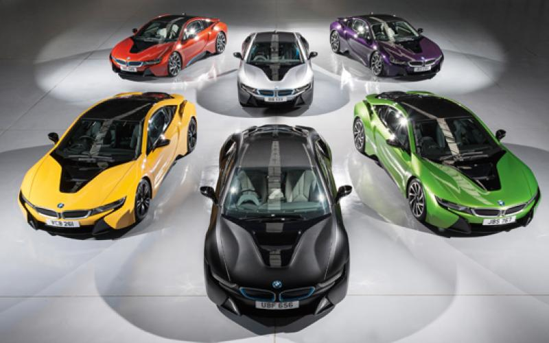 bmw individual options i8
