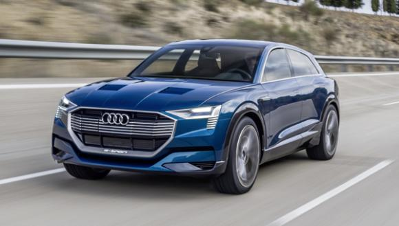 Electric Car Year Audi