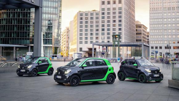 Smart Reveals Electric Drive Range