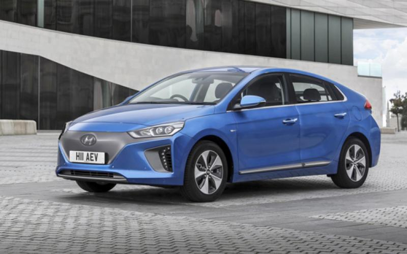 hyundai ioniq top marks euroncap tests