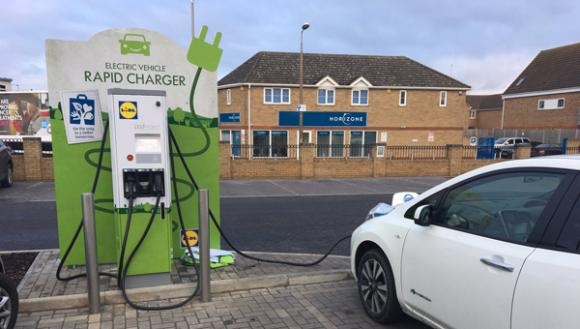 Pod Point And Lidl Offer Free Ev Rapid Charging At S
