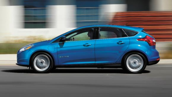 Ford Boosts Focus Electric With New 140 Mile Range