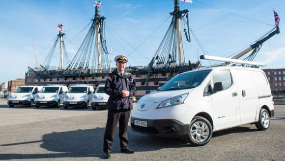 portsmouth-naval-base-turns-electric-fleet