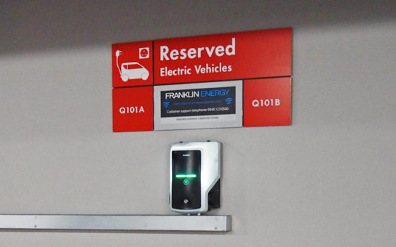 -park adds 22kw franklin energy chargers northern powerhouse sites