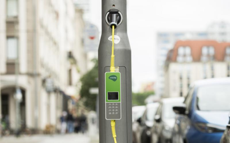 london borough switches lamp post chargers