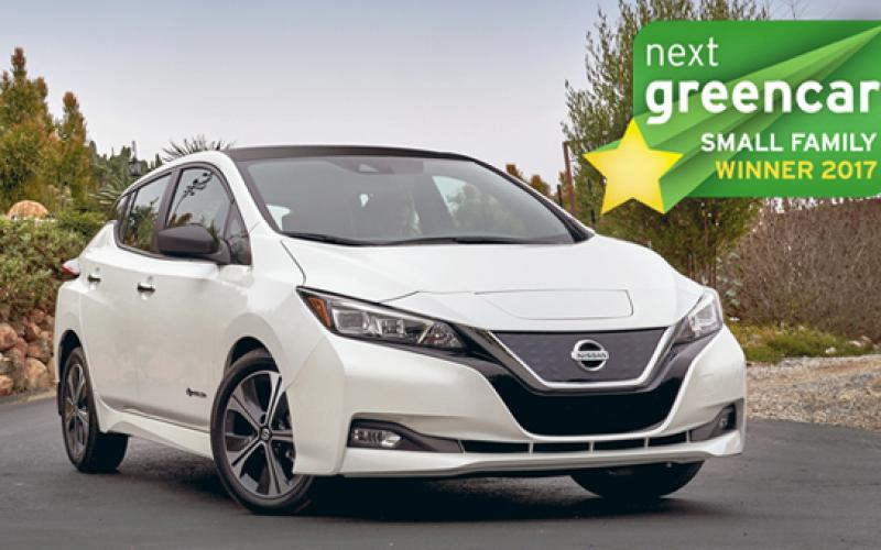 electric cars reign green car awards 2017