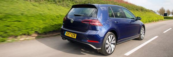 vw golf gte driving