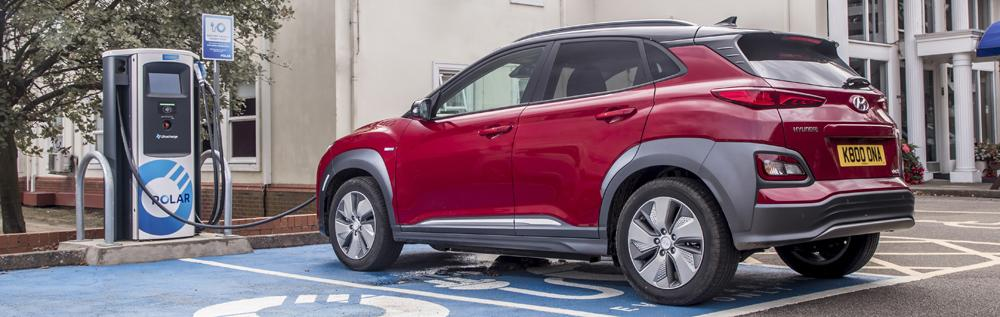 hyundai kona electric how to charge