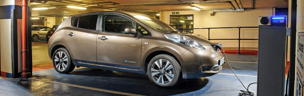 Charging A Nissan Leaf On Public Networks