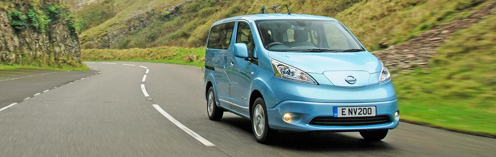nissan e-nv200 ev charging guide