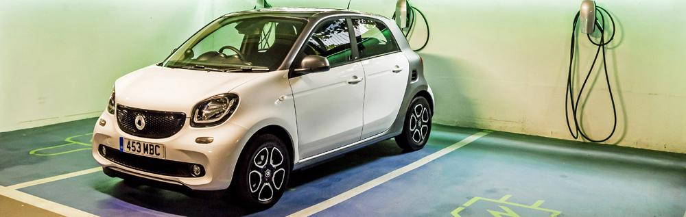smart forfour ed charging times
