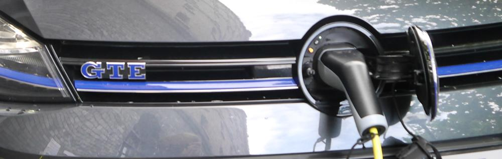vw golf gte home charging