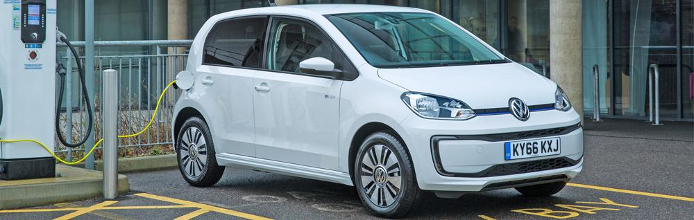 vw e-up! ev charging guide