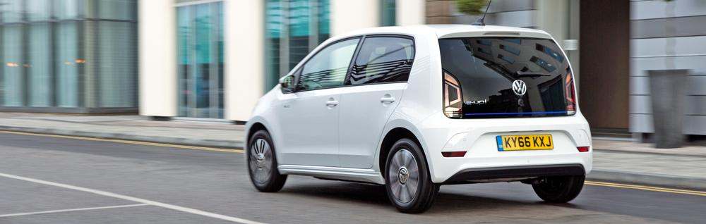 vw e-up driving