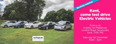 kent electric vehicle drive day