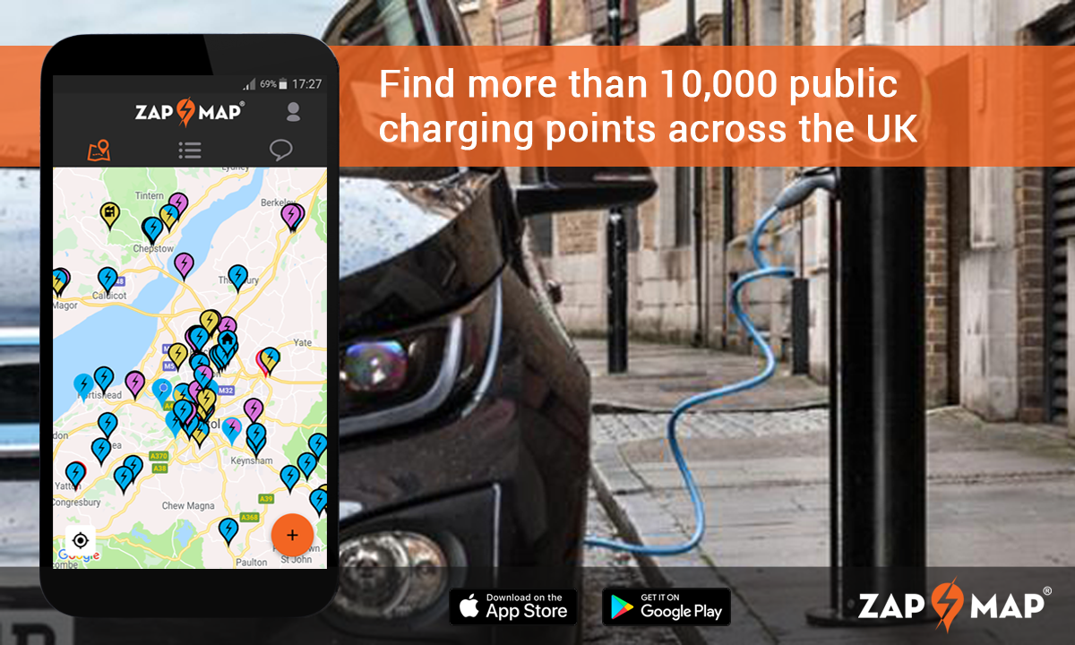 Charging points and electric vehicles UK 2019 - Zap Map