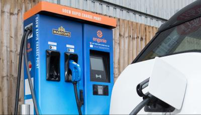 engenie install 2000 rapid chargers 2024