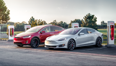 tesla drop 75d models line