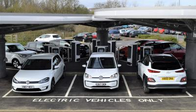 milton keynes rapid charging hub officially opened