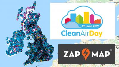 clean air day 2019 ev charging network offers