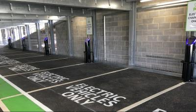 bristol airport boosts ev charge point numbers