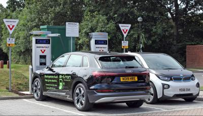instavolt rolls ultra rapid ev charge points