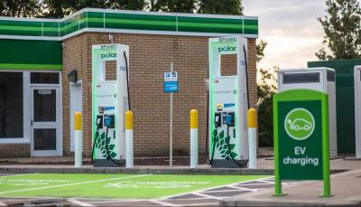 polar installs 150 kw ultra rapid ev chargers