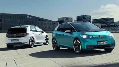 vw launches electric 3 frankfurt