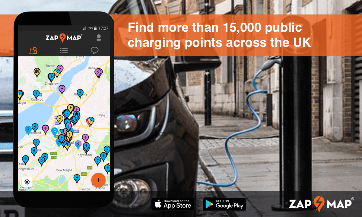 Charging points and electric vehicles UK 2020 - Zap Map