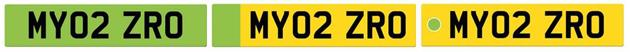 evs set feature green number plates