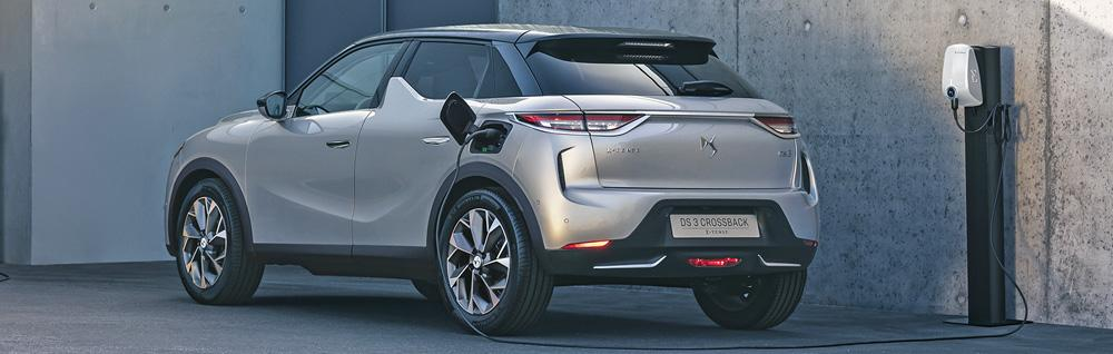 ds 3 crossback e-tense charging
