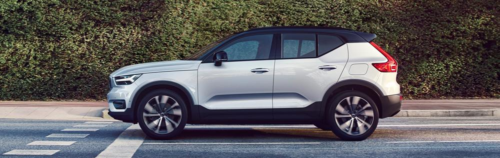 volvo xc40 recharge driving
