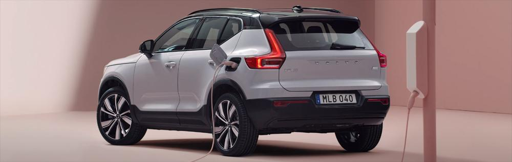 volvo xc40 recharge how to charge